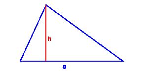 pole trójkąta podstawa wysokość
