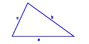 pole trójkąta trzy boki i obwód